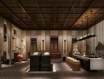 汉朝配色典雅茶馆3D模型