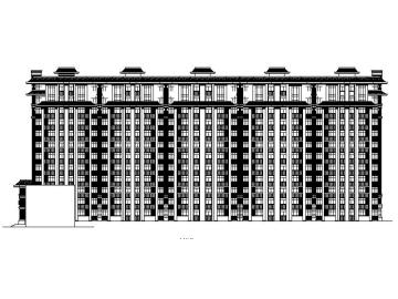 [宁夏]高层中式住宅商业小区施工图