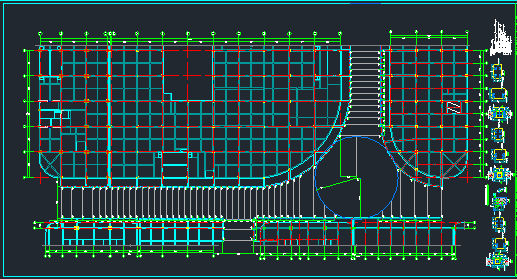 时代广场步行街屋顶钢结构施工图_9