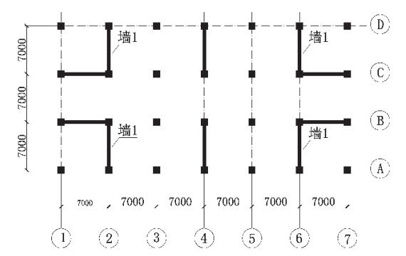 基于Ansys的框架-剪力墙结构有限元分析
