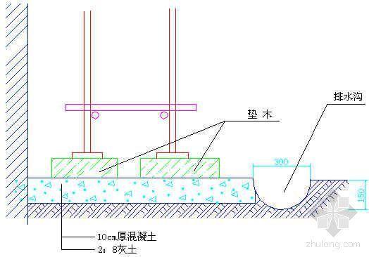北京某高层住宅工程脚手架施工方案(落地式、悬挑式)