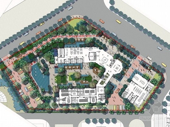 [昆明]欧式高档居住区售楼处景观设计方案文本