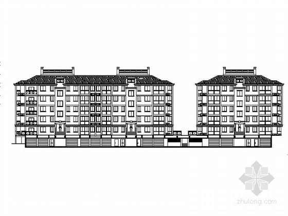 [浙江]现代风格小高层住宅小区规划及单体建筑设计施工图(含效果图)