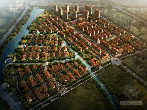 [苏州]托斯卡纳风格低密度别墅区规划设计方案文本(两种方案)