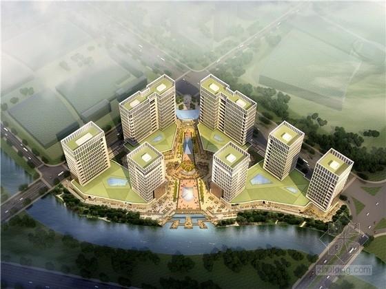[浙江]现代风格电子商务信息港规划设计方案文本
