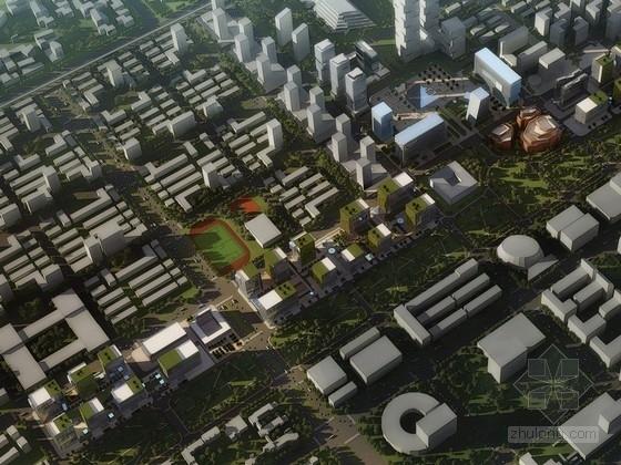 [天津]滨海CBD新区折板城市规划设计方案文本(概念新颖)