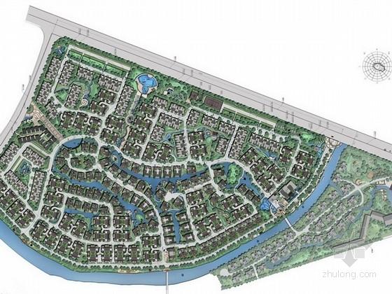 [四川]现代风格住宅小区景观设计(附建筑设计)方案