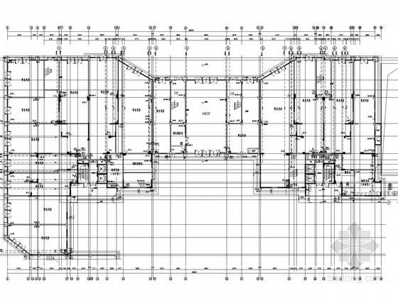 [四川]二类高层居住建筑给排水消防施工图(自喷系统 冷凝水系统)