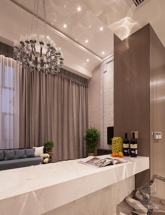 [杭州]时尚清新又精致的别墅设计方案(含实景图)- 时尚清新又精致的别墅设计方案(含实景图)方案图
