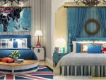 地中海风格卧室3D模型合集(二)