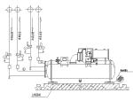 34张安装大样、接管大样及节点详图(含水泵、冷水机组、管道穿吊顶详图等)