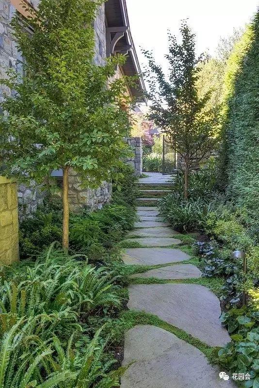 花草与石板的关系•花园小径_32