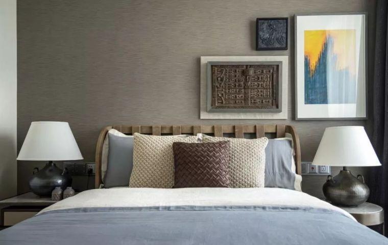 卧室背景墙别放空,这样设计美极了!_3