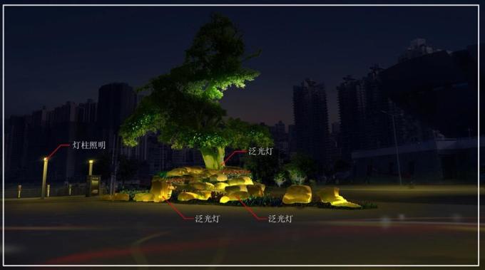 [重庆]北滨大道夜景规划设计