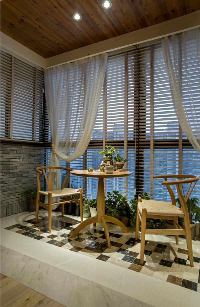 宁波木材质世贸湾公寓-3