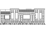 [宁夏]七层框架结构国际商业广场建筑施工图(含效果图)