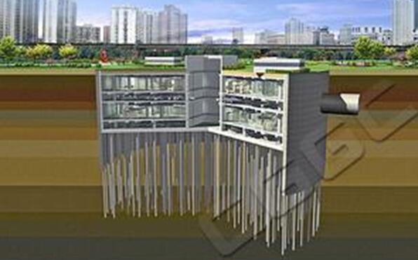 《城市地下空间建设新技术》课件(附50个动画)-超深基坑逆作施工