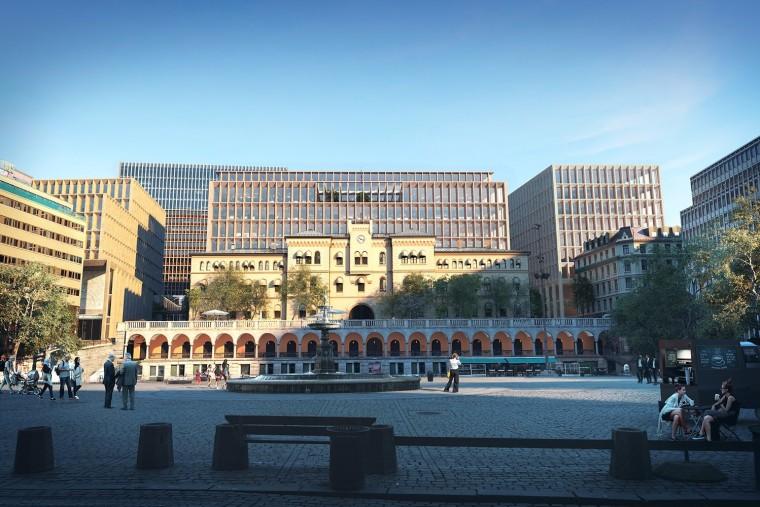 挪威政府总部大楼-5