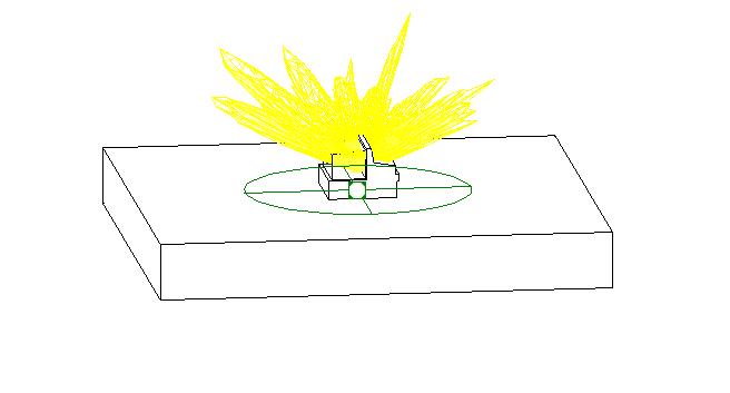 bim软件-revit族壁灯组 - 外部