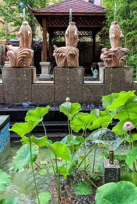 5个常用水景元素打造中式古典庭院_2