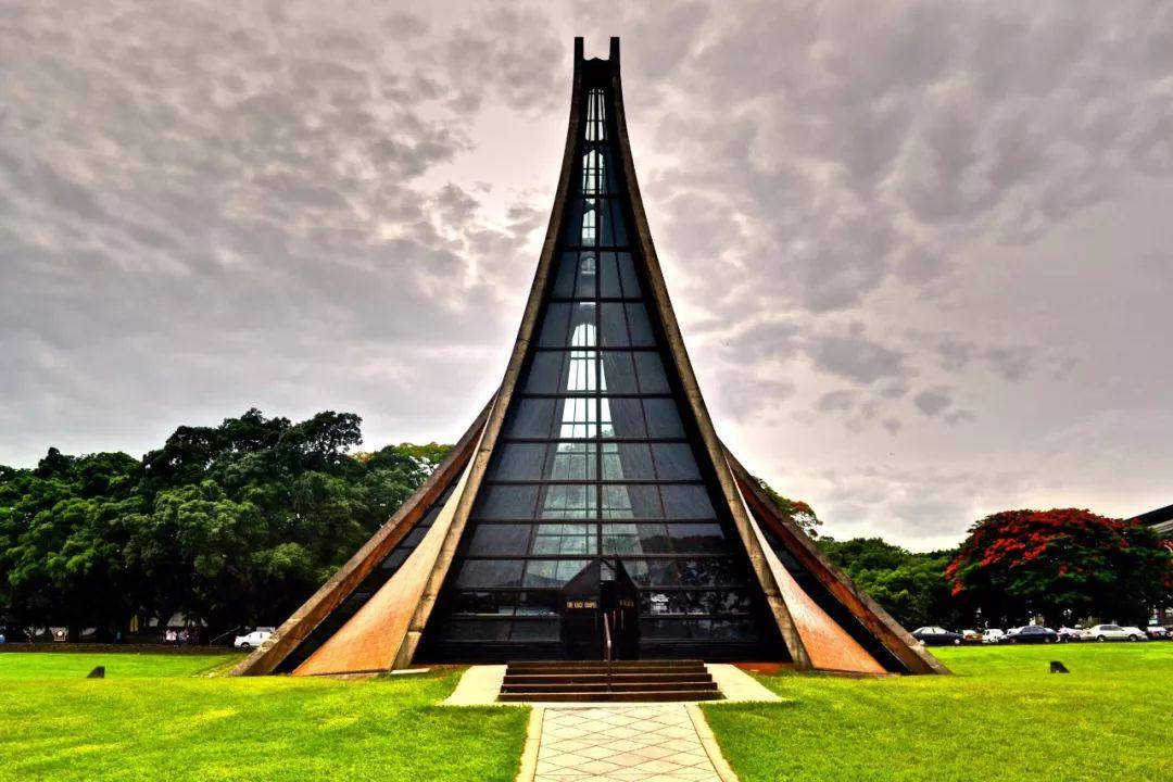 致敬贝聿铭:世界上最会用「三角形」的建筑大师_91