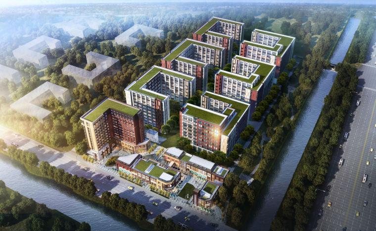 [北京]金地未未来商业+SOHO整体模型设计