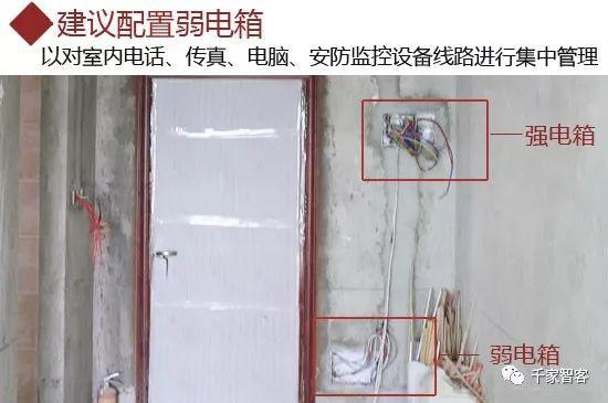 家庭装修弱电布线施工规范及常见问题_10