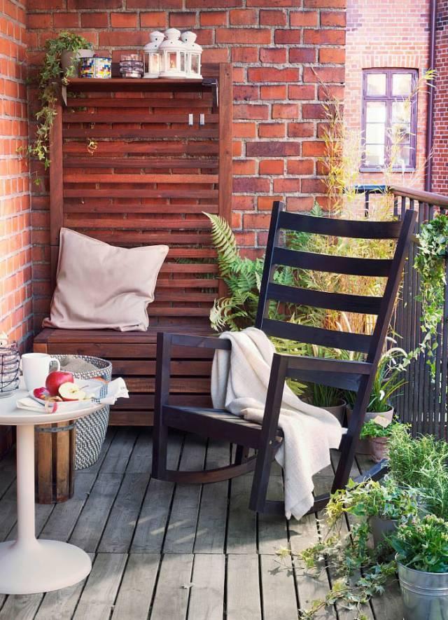 不用大费周张,照样能把小阳台变得文艺又清新!