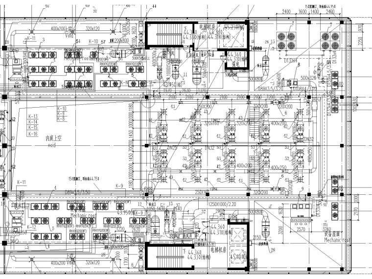 [上海]国际金融中心暖通施工全套图(含冷热源、空调系统、机械通风与排烟系统与节能设计)_5