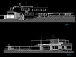 玛利亚别墅su模型和cad