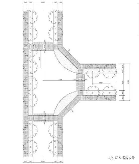 万科住宅内的道路设计,标准和施工做法,都是经验呀!!_16