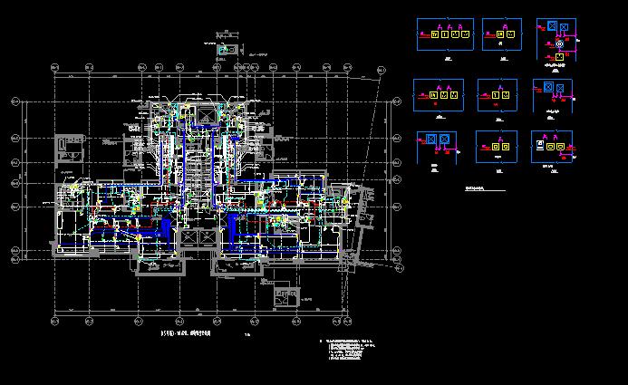 600M塔楼全套图纸(强电弱电给排水)_3