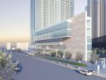 超高层现代风格成都世贸猛追弯酒店HOK建筑设计方案文本