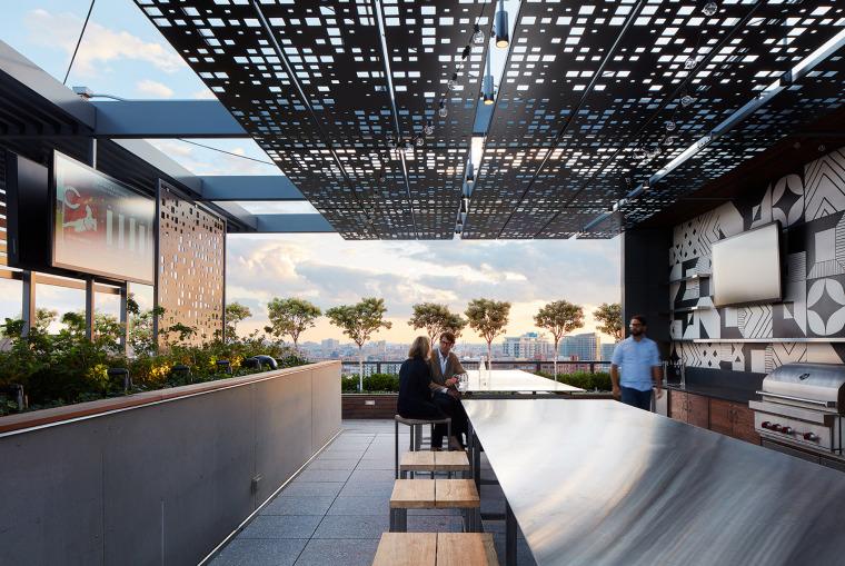 美国600WestChicago屋顶花园-美国600 West Chicago屋顶花园实景图 (2)