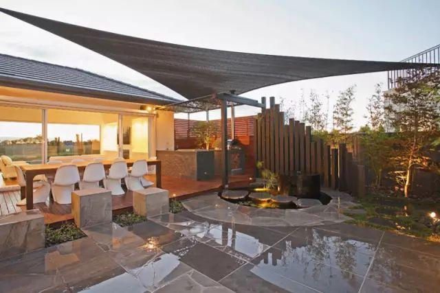 赶紧收藏!21个最美现代风格庭院设计案例_159