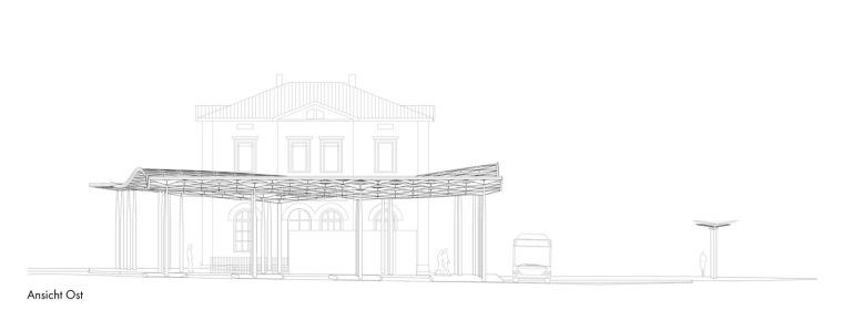 埃斯林根汽车站周围景观立面图 (10)