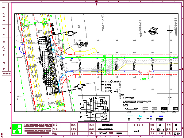 市政道路工程施工设计图纸
