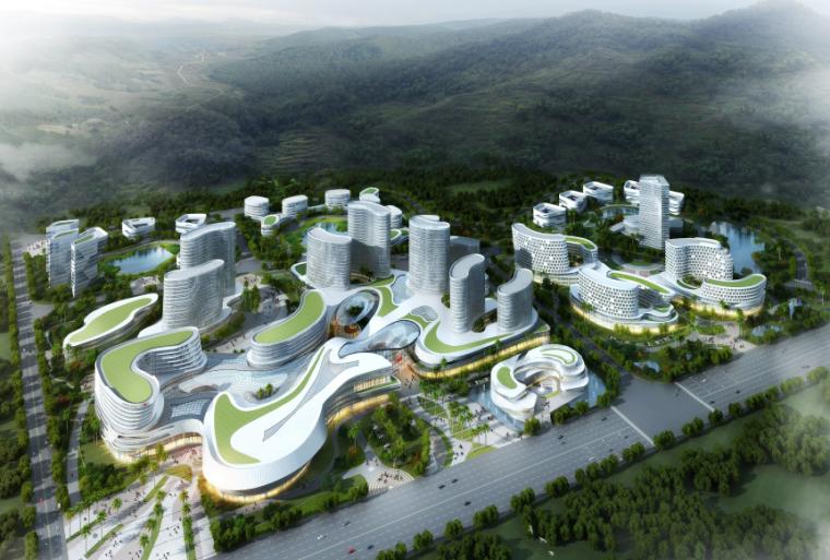 [广东]汕头医院建筑设计投标方案文本