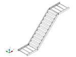 单跑钢楼梯设计计算书(word,7页)