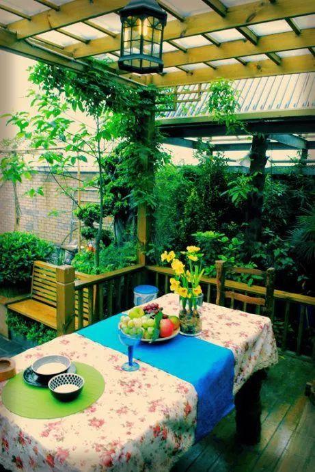 世界那么大,我却只想要个小院花开满园,自在从容……_29