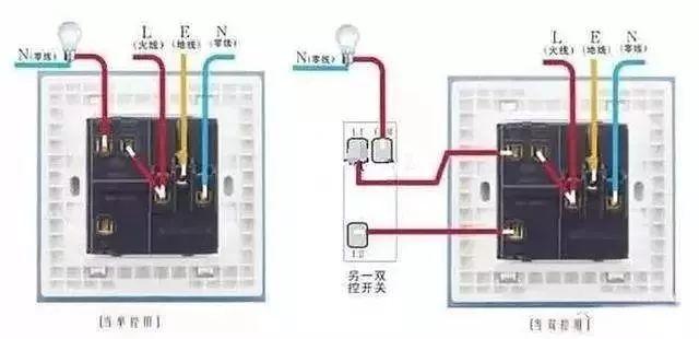 家庭电路控制系统大全,开关控制电路大全,值得收藏!_9