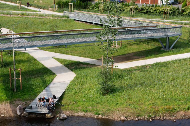 法国默尔特河岸景观设计_6