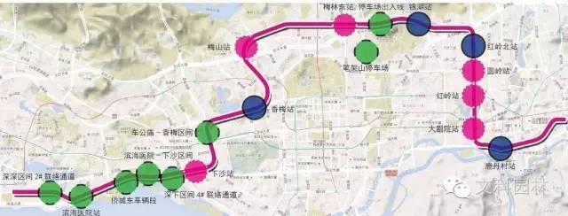 广东深圳地铁九号线景观设计赏析