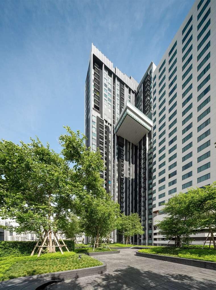 曼谷中心豪华公寓景观-5ab884dd