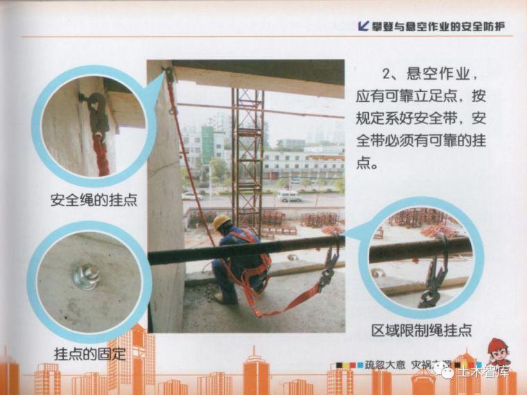 大用系列,建筑施工现场安全知识画册之高处作业_46