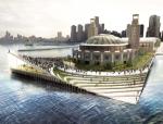 [国外]小清新风格big事务所城市码头建筑设计方案文本