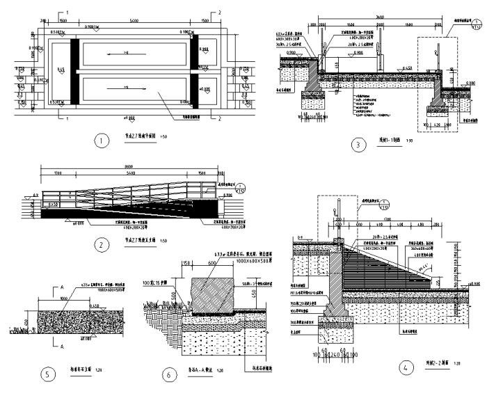 [浙江]生态湿地滨海河道景观整治设计全套施工图(附实景图+PDF施工图)