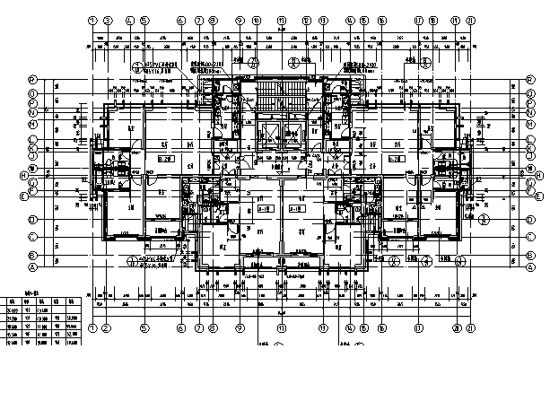 [河南]26层塔式住宅建筑施工图(16年全专业图纸)_8