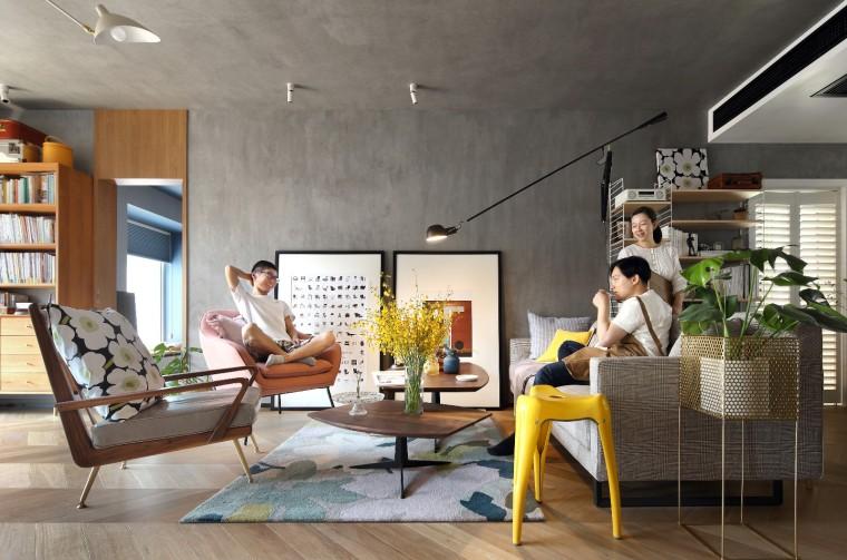135平方米改造的精装修住宅