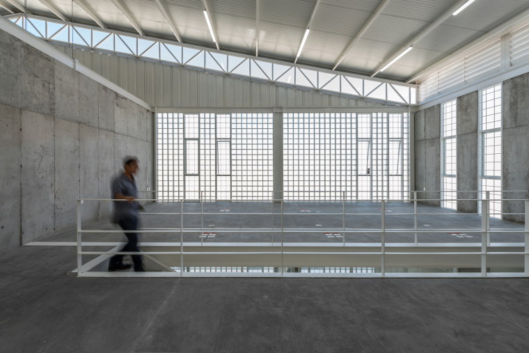 墨西哥服务钢铁Xray工厂建筑-8